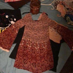 Boho dress nwot